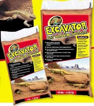ZooMed Excavator Clay Burrow Substrate 10 lb. by Zoo Med