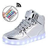 Mingyuming Kids Boy Girl's 11 Color USB Charging LED Shoes Flashing Sneakers(Toddler/little/Big kid) cwmgSL36