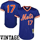 MLB Mitchell & Ness Keith Hernandez New York Mets Authentic Throwback Jersey-Royal Blue