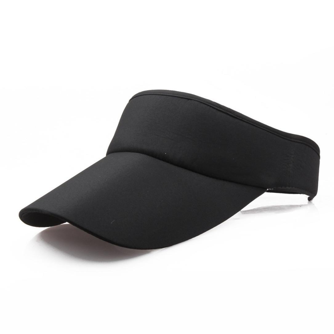 fa148f03ed8359 Amazon.com: BCDshop Summer Sun Visor Cap For Women Men Cotton Fashion Sport  Outdoor Caps (C): Beauty