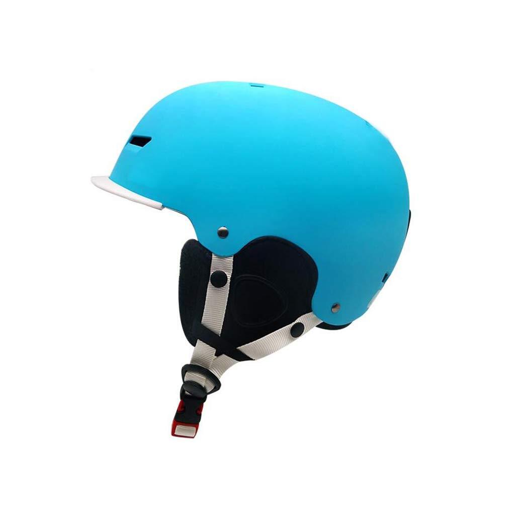 【特別訳あり特価】 ヘルメット スキー&スノーボードヘルメット、スキー用保護安全帽男性女性スケートボードスケートヘルメット調節可能なヘッドバンドB B07PZKD75C ヘルメット B07PZKD75C Medium 青 Medium, 朝日町:05fbb7b4 --- a0267596.xsph.ru