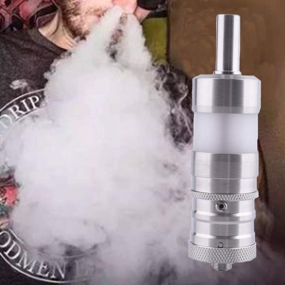 ShenRay FEV4.5 style vaporizador, atomizador de tanque reconstruible RTA de 6 ml, atomizador de 23 mm de diámetro para cigarrillo electrónico (plata): Amazon.es: Salud y cuidado personal