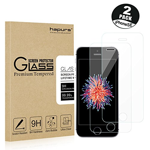 2 Pack IPhone Protector Hapurs Tempered