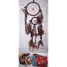 Handmade Tribal Dream Catchers Wall Hanging Decoration 6 Pc Pack (NpDc42A-6 Z)