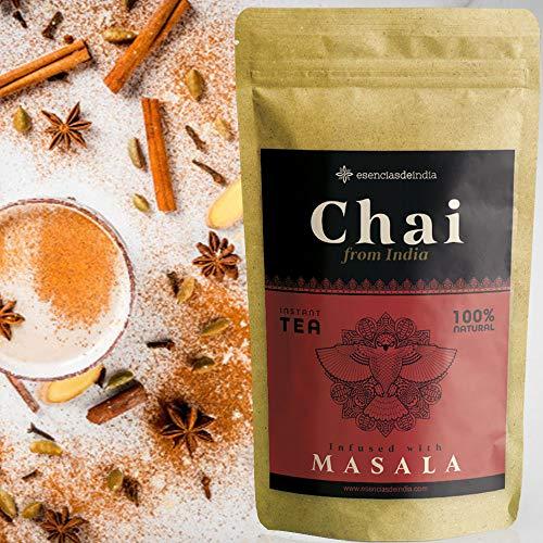 Te Chai Latte en Polvo instantaneo GIRNAR 300g - Te Masala Chai - Chai Tea Latte - Chai Te - Chai Latte Powder - Te Negro Chai - Chai Masala - Te Chai - Chai Latte