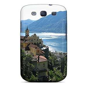 Galaxy S3 Case Cover Lago Maggiore Italy Case - Eco-friendly Packaging by Maris's Diary
