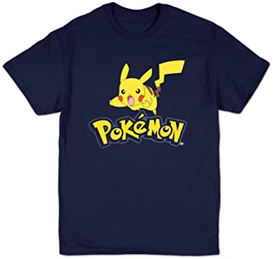 0a697346 Amazon.com: Pokemon - Pokemon Logo T-Shirt Size XXL: Clothing