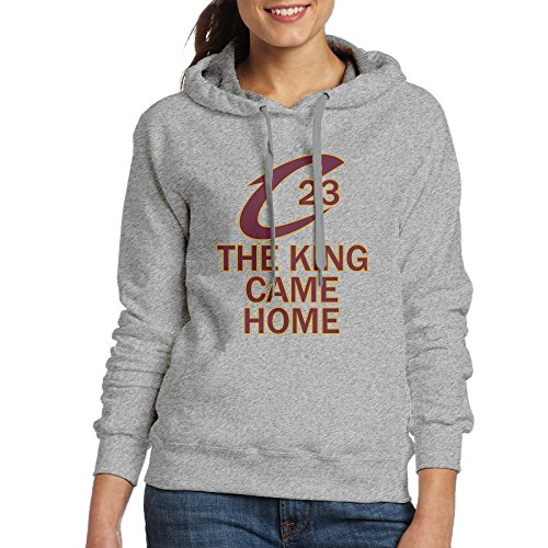 NVVM Women's James NO.23 King Pullover Hoodies Sweats XL
