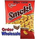 Smoki Peanut Flavored Snacks 50g bags (40pc case) Wholesale