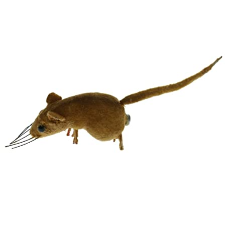 Kawn Lifelike Mouse Ornament Spoof Props Toys Animal Statues Miniature Outdoor Garden Grassland Tree Lawn Sculpture Home Decor Gift