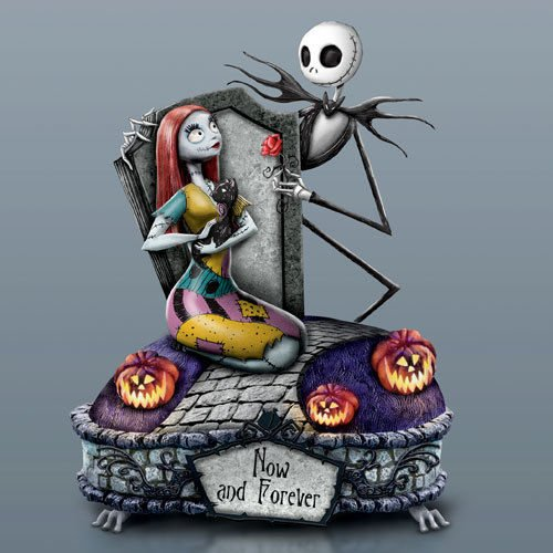 Soko Accents - Bradford Exchange Nightmare Before Christmas Now and Forever Jack Sally Musical