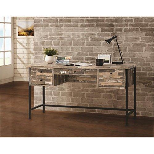 - Coaster 801235-CO Writing Desk, Black