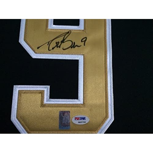 d74f86a4 Drew Brees Autographed Signed New Orleans Saints Framed Jersey Psa ...