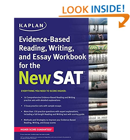 reading and writing workbook com kaplan evidence based reading writing and essay workbook for the new sat kaplan test prep