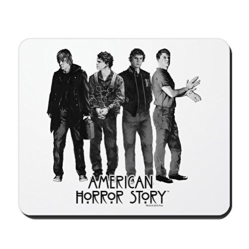 CafePress - American Horror Story Evan Peters - Non-Slip Rubber Mousepad, Gaming Mouse Pad ()