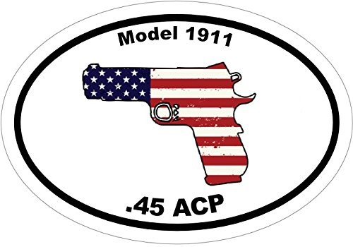 45 acp bumper stickers - 6