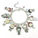 My Hero Academia Anime Manga Charm Bracelet Quality Cosplay Jewelry Series with Gift Box