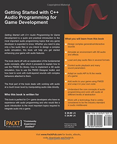 Getting Started with C++ Audio Programming for Game Development by Packt Publishing