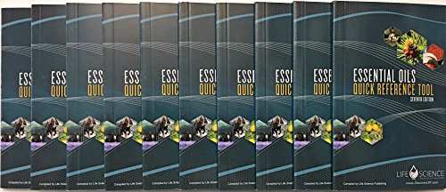 Essential Oils Quick Reference Tool 7th Edition Pamphlet – 2016 10 pack bundle