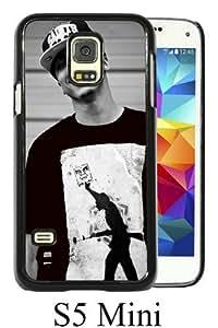 Galaxy S5 Mini Phone Case,August Alsina 1 Black Pattern Cool Design Samsung Galaxy S5 Mini Cover Case