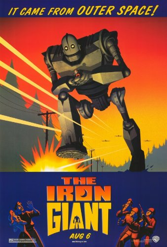 The Iron Giant Poster 27x40 Vin Diesel Eli Marienthal Jennifer Aniston Poster Print, 27x40 - Giant Movie Poster