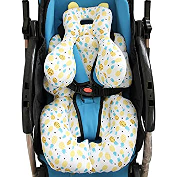 AIPINQI Head And Body Support Pillow With Neck For Baby Car Seat Strollers