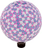 Trademark Innovations 10'' Mosaic Glass Gazing Mirror Ball (Mosaic Design)