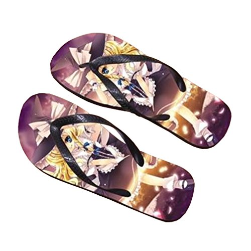 Bromeo TouHou Project Anime Unisex Flip Flops Chanclas 749