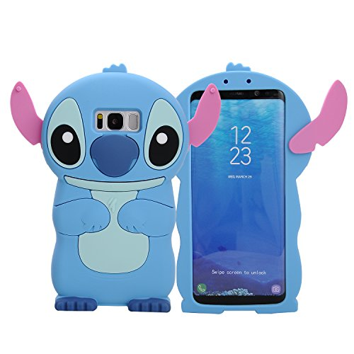 Galaxy Note 8 Case, Phenix-Color 3D Cute Cartoon Soft Silicone Hello Kitty Gel Back Cover Case for Samsung Galaxy Note 8 (2017) - 3d Note Cartoon 3 Case