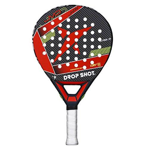 DROP SHOT Conqueror Soft Pala de Pádel, Unisex niños, Negro, 360-385 gr: Amazon.es: Deportes y aire libre