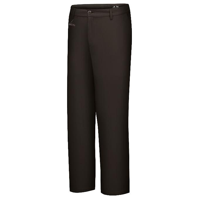 Adidas - Pantalones de Golf losos modelo Flat Front hombre caballero (Cintura 91cm x Reg