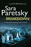 Breakdown: V.I. Warshawski 15 by Paretsky, Sara (2012) Hardcover