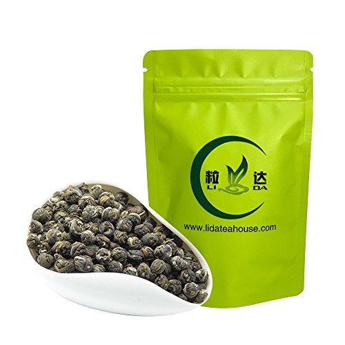 n Pearls Tea - Loose Leaf Jasmine Tea Ball - Jasmine Green Tea Leaves With Fragrance Aroma - 50g/1.8oz (Jasmine Tea Ball)