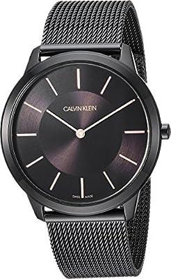 Calvin Klein Mens Minimal Watch - K3M21421