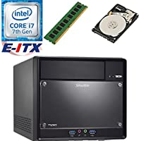 Shuttle SH110R4 Intel Core i7-7700 (Kaby Lake) XPC Cube System , 4GB DDR4, 1TB HDD, DVD RW, WiFi, Bluetooth, Pre-Assembled and Tested by E-ITX