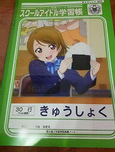 [Love Live! School idle learning book lunch New From Japan] (Funny Pop Culture Costume Ideas)