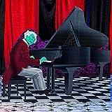 Haunted Hotel Grand Piano Standee Halloween Decoration