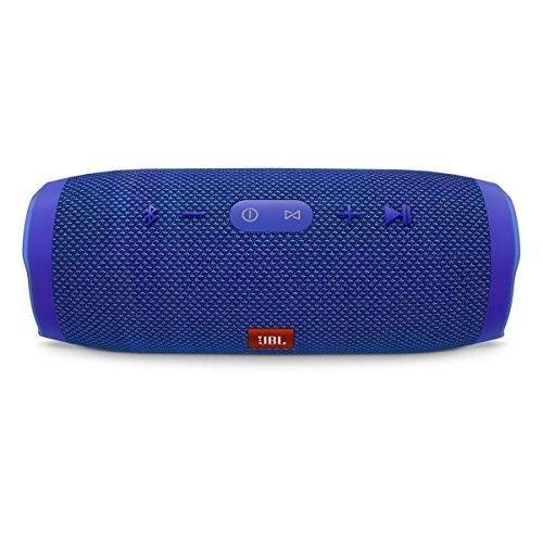 JBL Charge 3 Waterproof Bluetooth Speaker -Blue (Certified Refurbished) by JBL (Image #1)