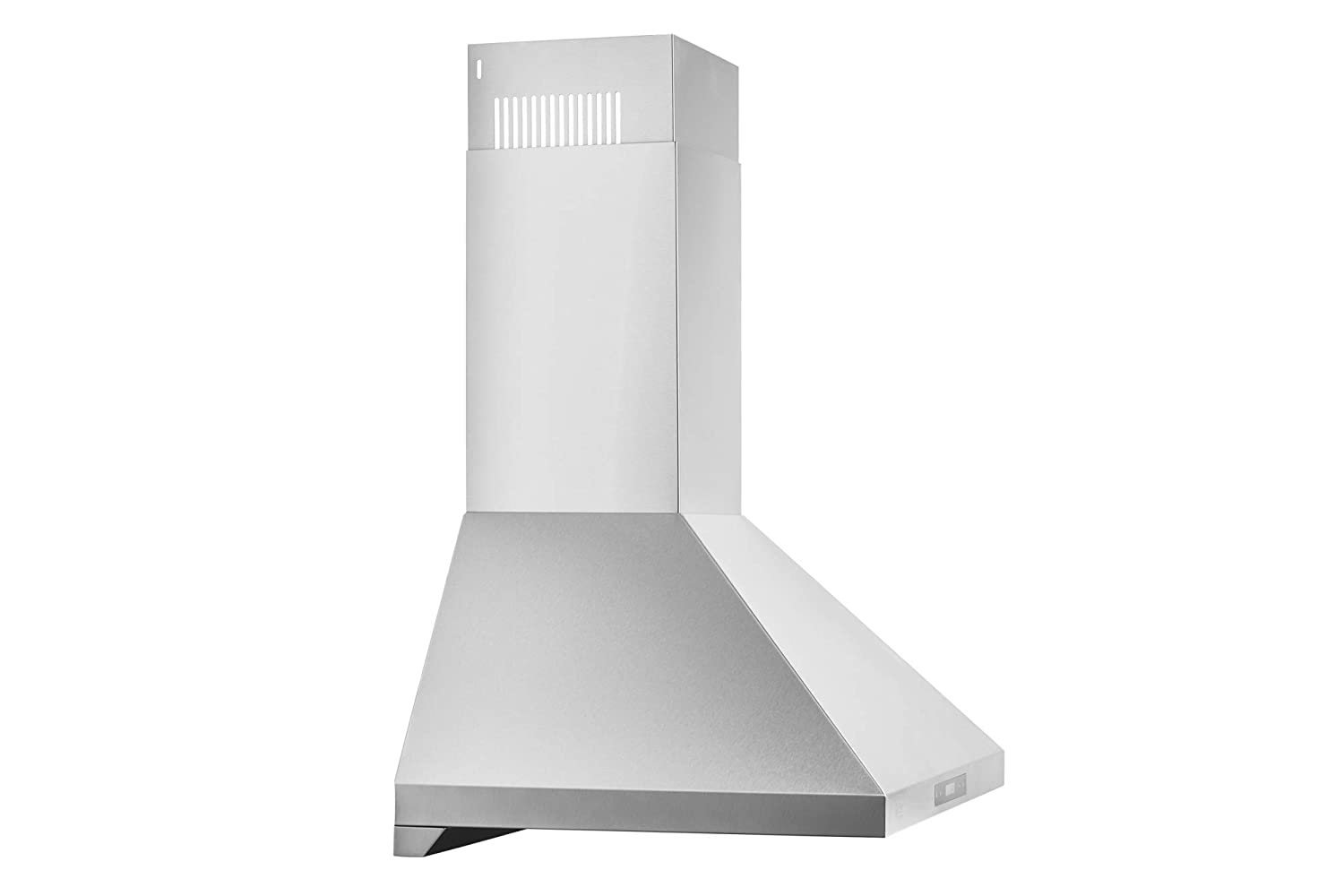 EUROPEAN STYLE SERIES 36 860 CFM Duct or Ductless Options Touch Screen Chef Range Hood WM-538 Easy Clean Baffle Filters LED Lamps 3 Speed Stainless Steel Wall-Mount Range Hood