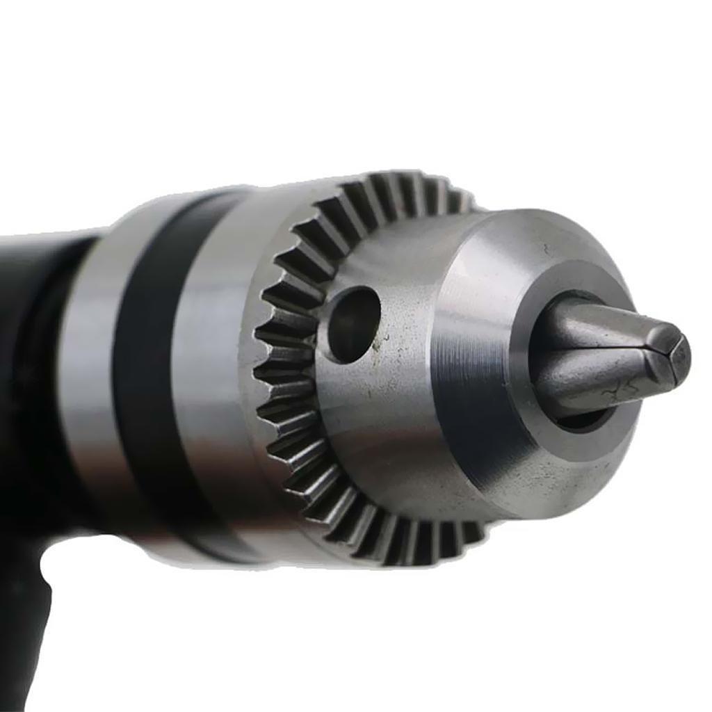 Adattatore per mandrino ad angolo retto a 90 gradi con testa in metallo e attacco per mandrino da 90 mm