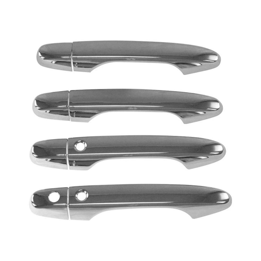 With Keyless Entry System fits for Honda Civic 10th 2016 2017 2018,Chrome ONETK Door Handle Cover Trims