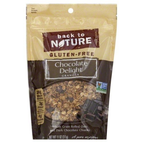 Chocolate Granola (Back to Nature Gluten-Free Chocolate Delight Granola 11oz (2 Pack)))