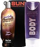 Best Indoor Tanning Lotions - ProTan Pro Tan Beautifully Dark Bronzer Indoor Tanning Review