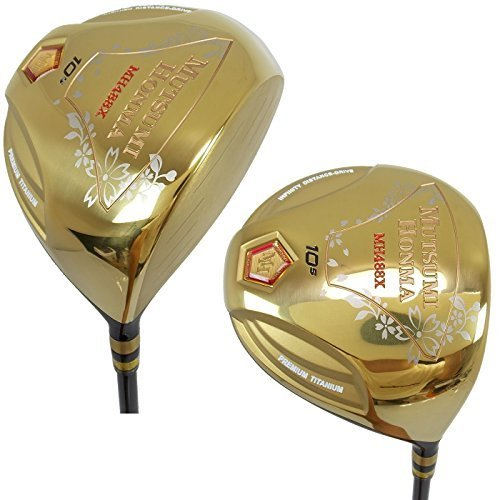 MUTSUMI HONMA Golf Driver MH488X 10.5 degrees (R) high-rebound / large 488cc model from Japan by MUTSUMI HONMA (Image #1)