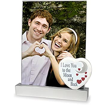 i love you picture frame i love you to the moon and back saying mothers day frame photo frame for mom