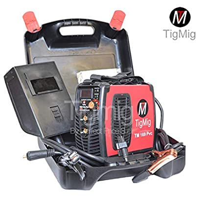 tigmig Welding Inverter TM 169 170 PVC Amp MMA Electrode PVC resistente accesorios Completo