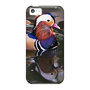 New Mialisabblake Super Strong Marin Duck Tpu Case Cover For Iphone 5c by icecream design