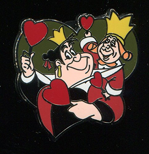 Authentic Disney Couples Mystery Pack King and Queen of Hearts Disney Pin - Disney King Pin