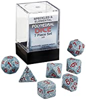Polyhedral Dice Set (7-Piece), Speckled Air