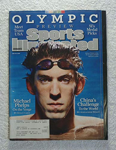 Michael Phelps - Swimming - XXIX Summer Olympic Preview - Beijing, China - Sports Illustrated - July 28, 2008 - SI